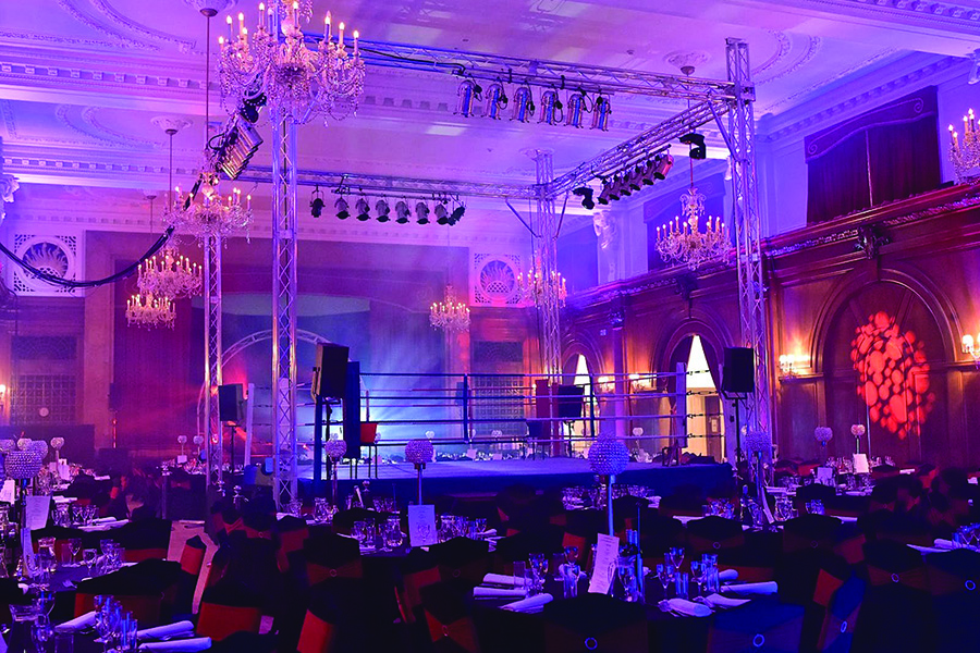 Porchester Hall Ball production okoru Design