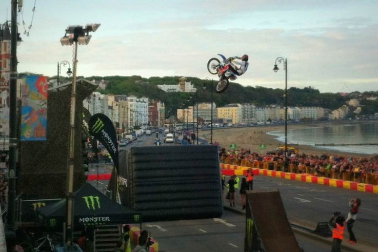isle of man tt monster energy production