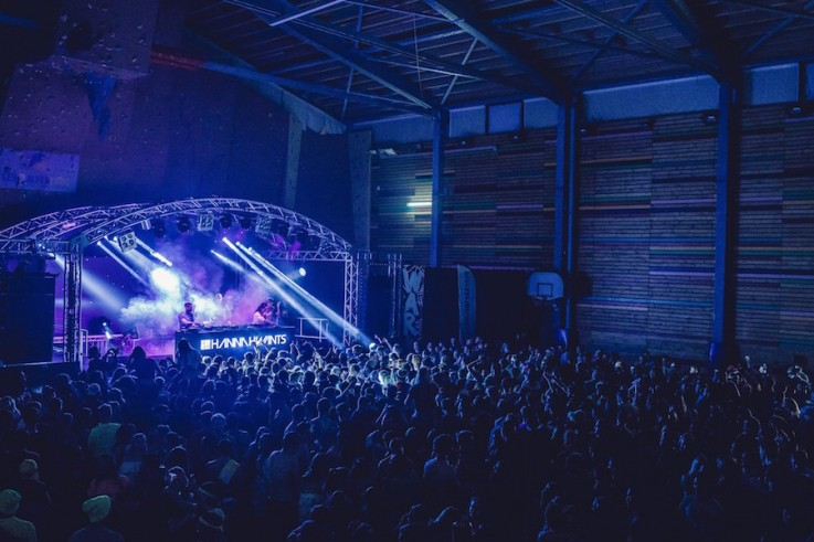hannah wants live event production rise festival