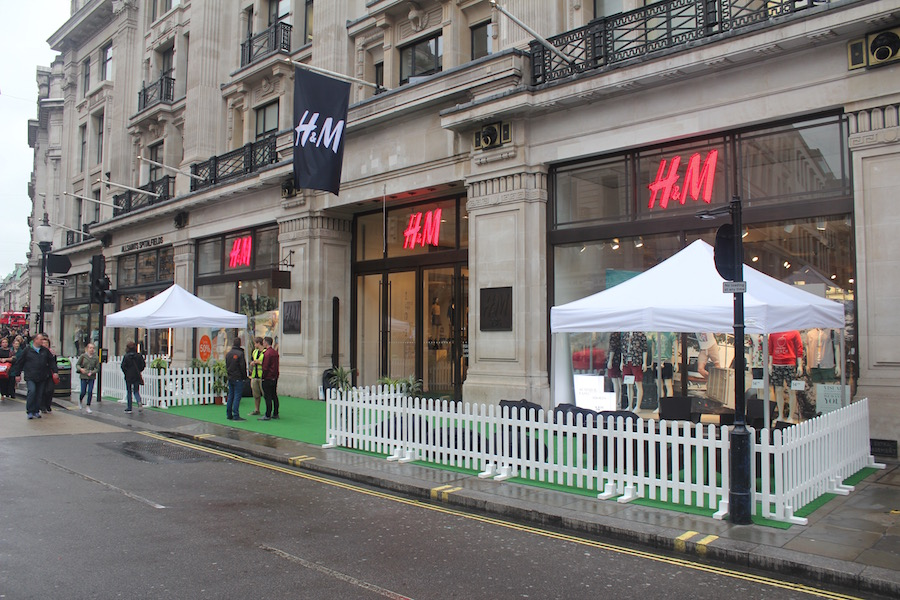 h+m-regent-st-london-activation
