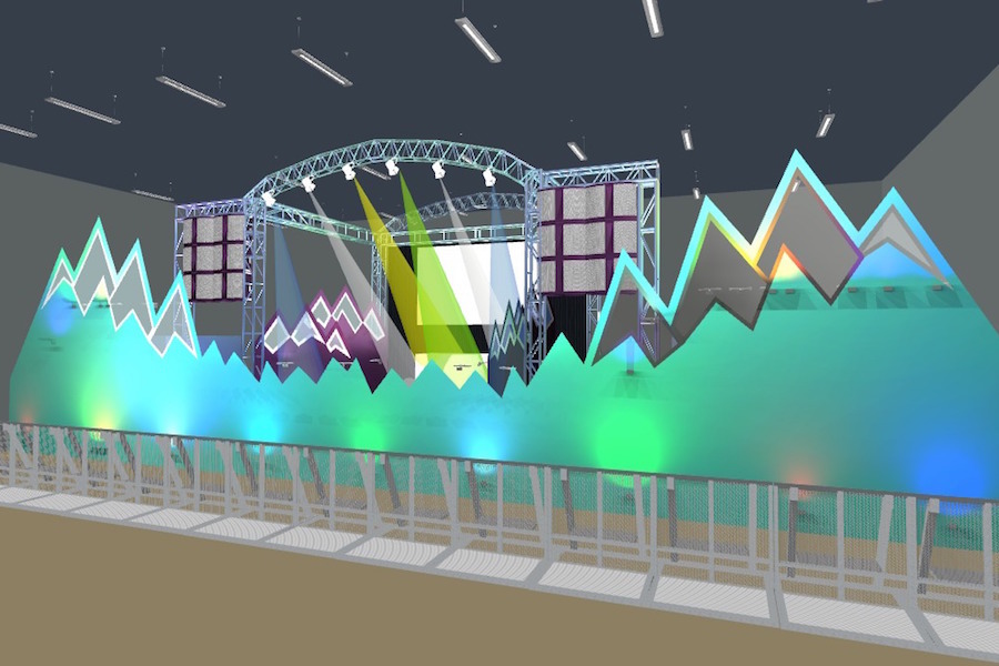 cad-design-mountain-stage-set-lighting-visual