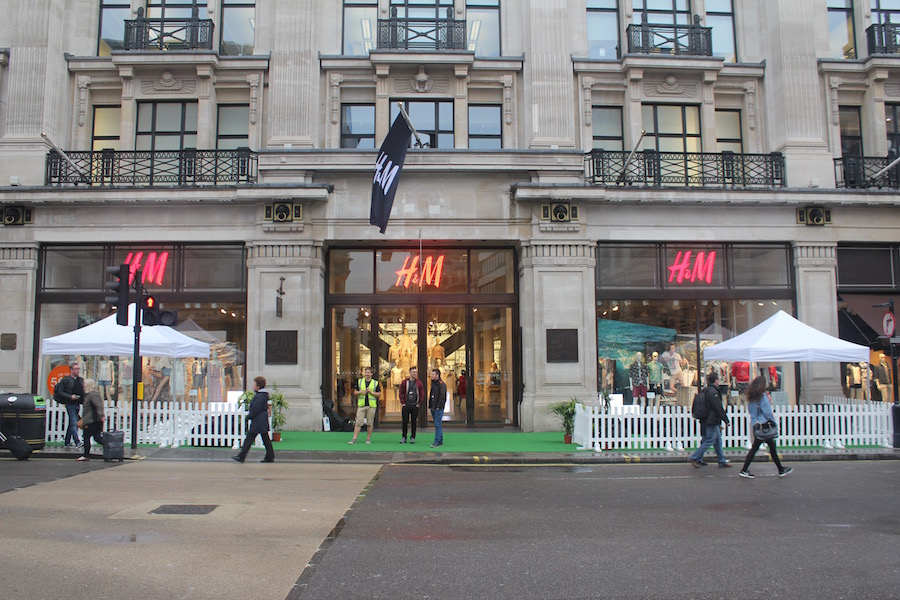 h+m-regent-st-activation