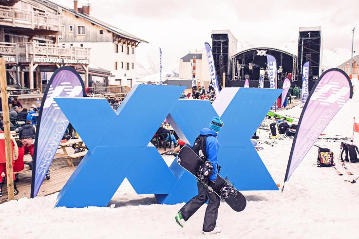 snowboxx stage alps dhuez france event production