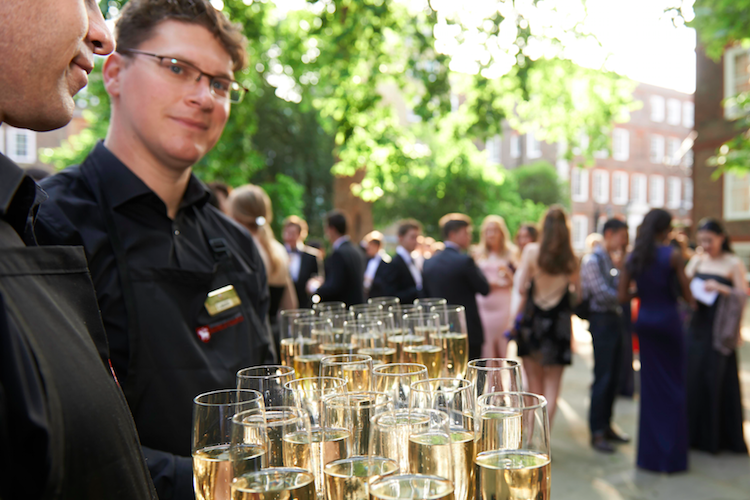 kings college london drinks reception