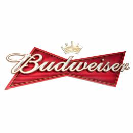 Budweiser Logo Okoru Events white